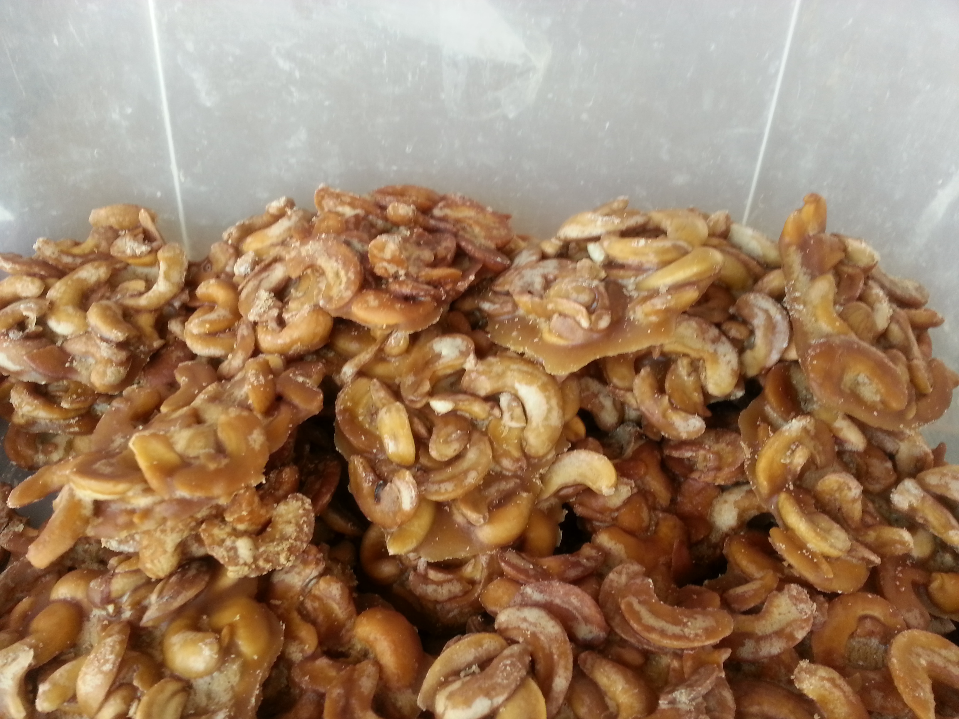 Cashew Brittle Chunks Recipe — Dishmaps