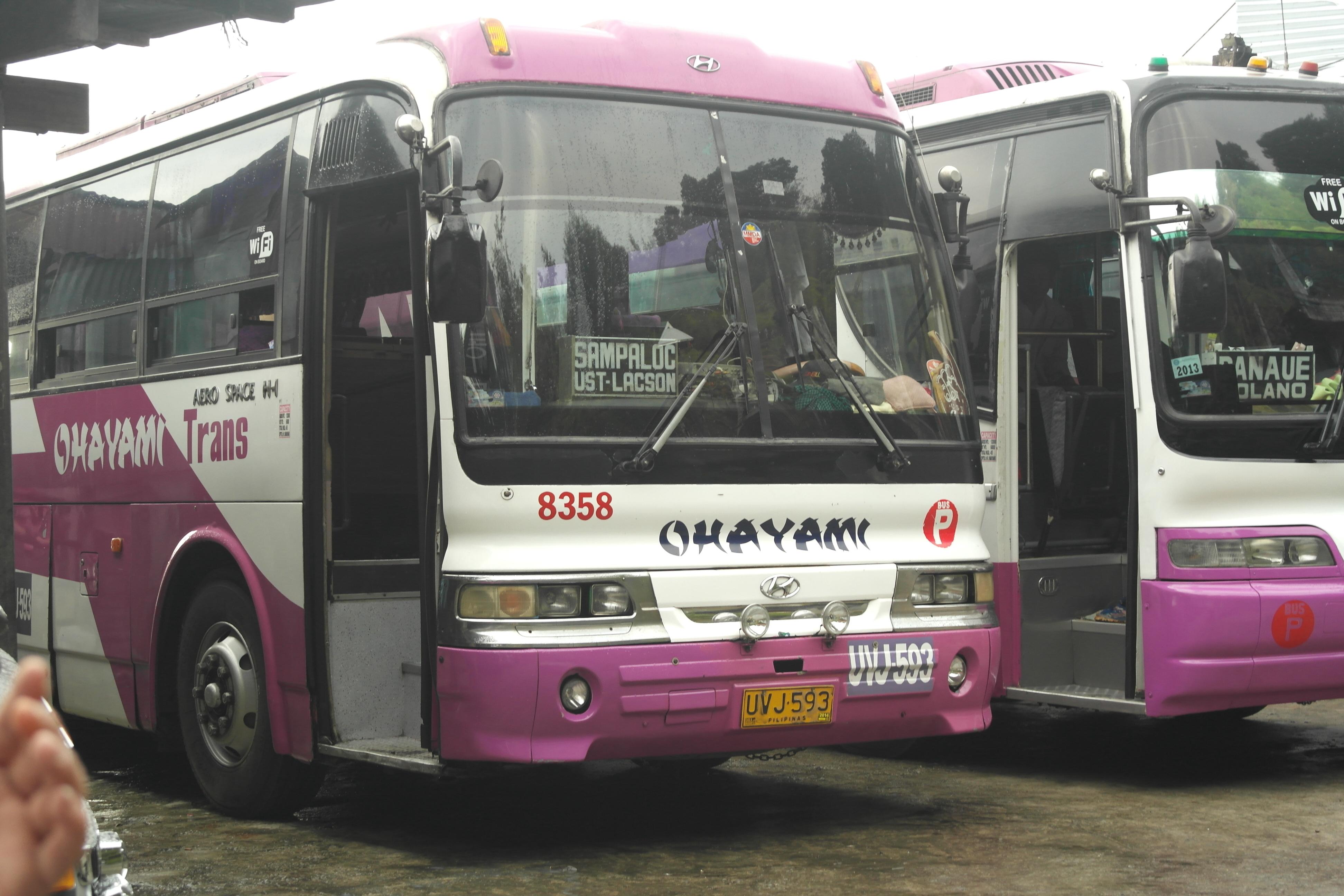 Cable Tours Bus Sagada